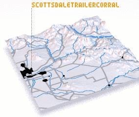Scottsdale Trailer Corral (United States - USA) map - nona net