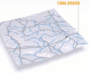3d view of Chalender