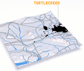 3d view of Turtle Creek