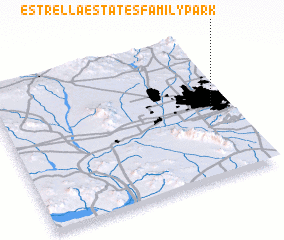 3d view of Estrella Estates Family Park