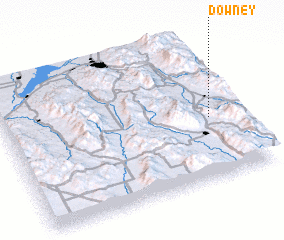 3d view of Downey