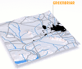 3d view of Greenbriar