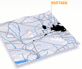 3d view of Montara