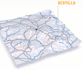 3d view of Ocotillo
