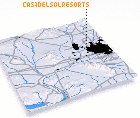 3d view of Casa del Sol Resorts
