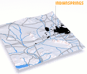 3d view of Indian Springs