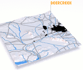 3d view of Deer Creek