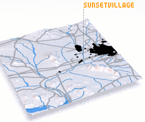 3d view of Sunset Village