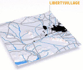 3d view of Liberty Village
