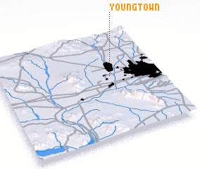 3d view of Youngtown