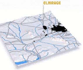 3d view of El Mirage
