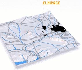 3d view of El Mirage