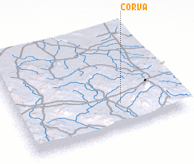 3d view of Corva