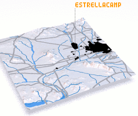3d view of Estrella Camp