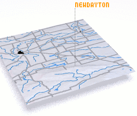 3d view of New Dayton