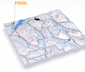 3d view of Fingal