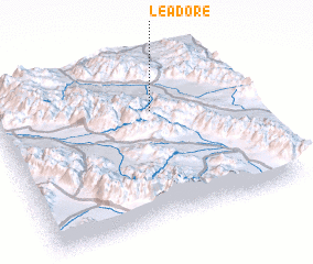 3d view of Leadore