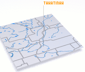 3d view of Tawatinaw