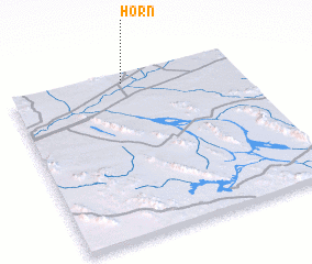 3d view of Horn
