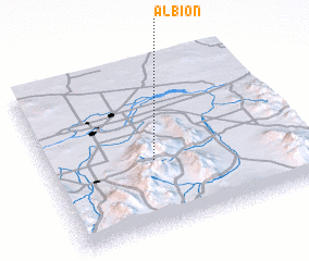 Albion Idaho Map.Albion United States Usa Map Nona Net