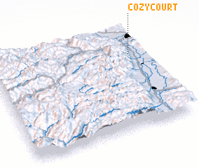 3d view of Cozy Court