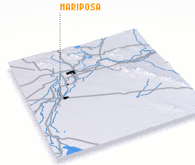 3d view of Mariposa