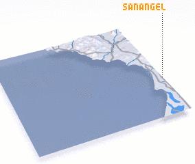 San Angel Mexico map nonanet
