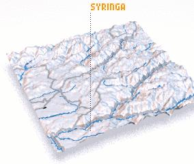 3d view of Syringa