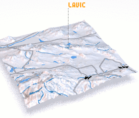 3d view of Lavic