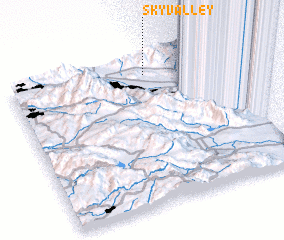 3d view of Sky Valley