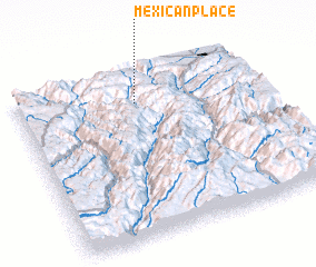 3d view of Mexican Place