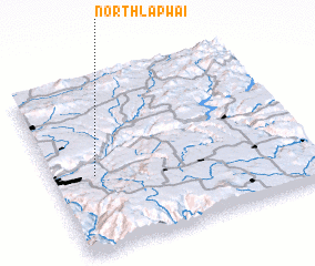 3d view of North Lapwai
