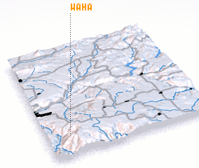 3d view of Waha