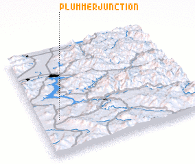 3d view of Plummer Junction