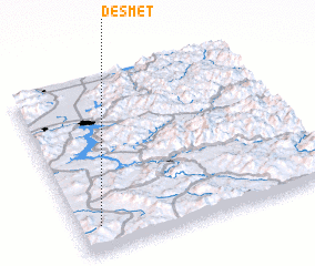 3d view of De Smet