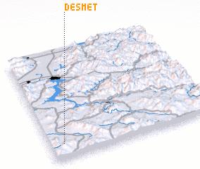 3d view of De Smet
