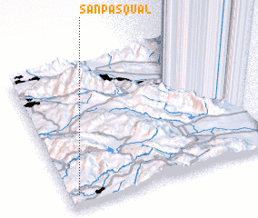 3d view of San Pasqual