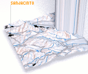 3d view of San Jacinto