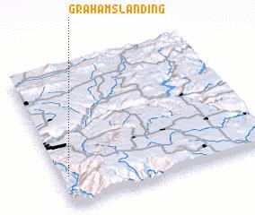 3d view of Grahams Landing