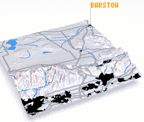 3d view of Barstow