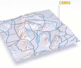 3d view of Comus