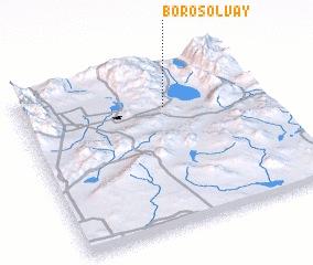 3d view of Borosolvay