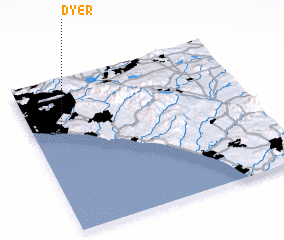 3d view of Dyer