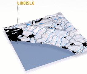 3d view of Lido Isle