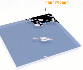 3d view of Downey Road