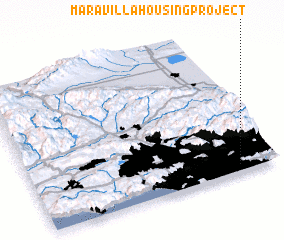 3d view of Maravilla Housing Project