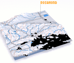 3d view of Rosamond