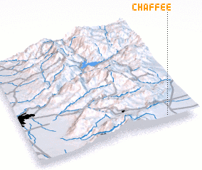 3d view of Chaffee