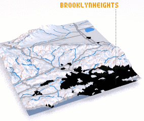 3d view of Brooklyn Heights