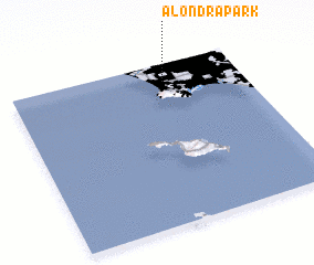 3d view of Alondra Park